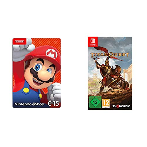 Nintendo eShop Card | 15 EUR Guthaben | Download Code & Titan Quest [Nintendo Switch]