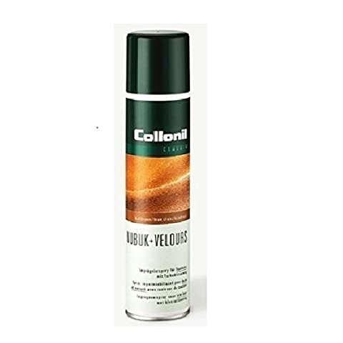 Collonil Adulte Unisexe' Imprägnierspray Maintenance Spray Cuir Suédé - Marron moyen