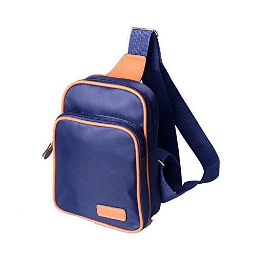 borse Ms. /pacco petto Ms./pacchetto diagonale spalla/Coppia piccolo zaino-B A