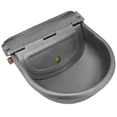 KSTE Abbeveratoio Cavalli Automatico Acciaio Inossidabile Resistente alla Corrosione,Alte Temperature,Adatto A Cavalli, Capre, Pecore, Bovini.4 Litri,22 Centimetri