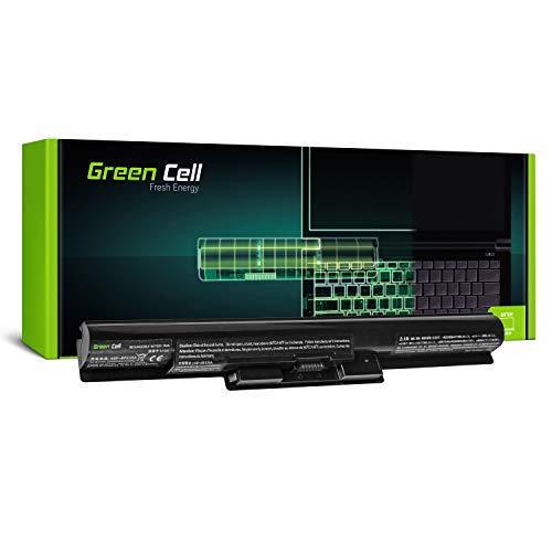 Green Cell Standard Serie VGP-BPS35A Laptop Akku für Sony Vaio SVF14 SVF15 Fit 14E 15E SVF1521C6EW SVF1521F2EW SVF1521G6EW SVF1521K1EW (4 Zellen 2200mAh 14.8V Schwarz)
