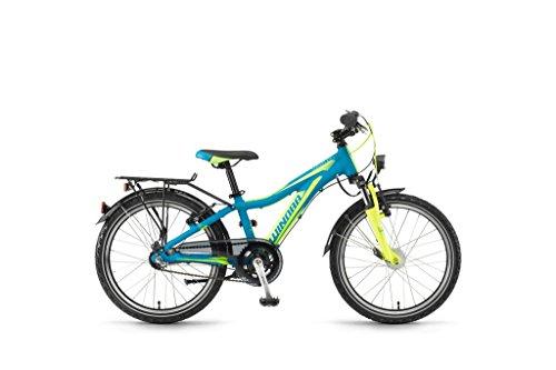 Winora Kinderfahrrad Bikes Dash 20 3-G Nexus RT 17/18 Cyan/Yellow/Green Matt 27 - Dash 3g