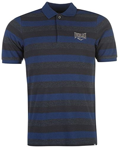 5eee1d44d Mens Branded Everlast Everyday Casual Striped Polo Shirt Cotton Top (Large,  Navy) - Buy Online in Oman. | Apparel Products in Oman - See Prices, ...