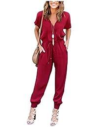 Amazon.fr   TU - Combinaisons et combishorts   Femme   Vêtements 18dd2a4d405