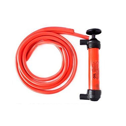 UEETEK Flüssige Übertragung Pumpe aus Kunststoff Siphon Fluid Transfer Pumpe Set Sucker Pumpe Fahrzeug Handpumpe für Öl-Gas-Flüssig (Gas-boot, Kleine Motor)