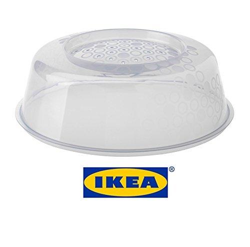 IKEA PRICKIG estándar calidad transparente tapa cubierta de la placa de microondas con ventilación para perfecto recalentar