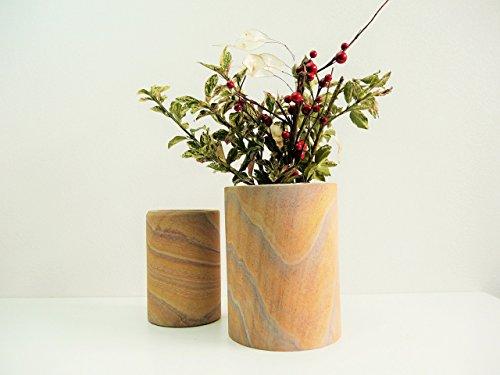 handgemachte-runde-blumenvase-aus-indischen-sandstein-naturstein-mit-hochwertigem-glaseinsatz-dekora