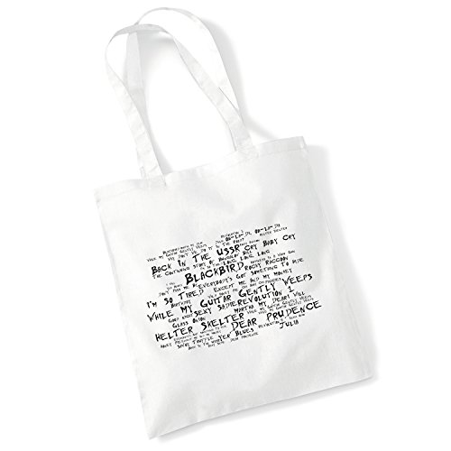 LISSOME Art Studio Kunst Studio Taschen-Tasche - The Beatles - (The White Album)