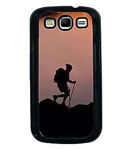 Fuson Designer Back Case Cover for Samsung Galaxy S3 Neo I9300I :: Samsung I9300I Galaxy S3 Neo :: Samsung Galaxy S Iii Neo+ I9300I :: Samsung Galaxy S3 Neo Plus (Trecking trekking Climbing Adventure Hobbie)