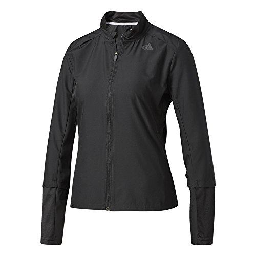 adidas Damen Response Wind Jacke, Black, S (Wind Response Jacket-bekleidung Adidas)
