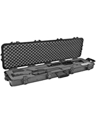 Doppelter Gewehrkoffer, wetterfest, 137,2cm, schwarzer Griff