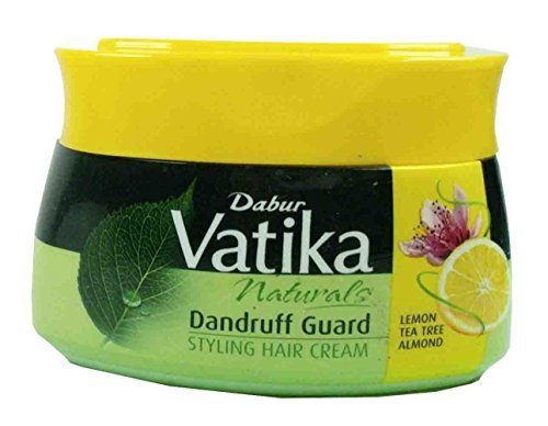 Dabur Vatika 140ml Styling Hair Cream Lemon Hair Mask Cream Fights Dandruff 132