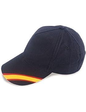 crisandecor Gorra Azul Bandera de España