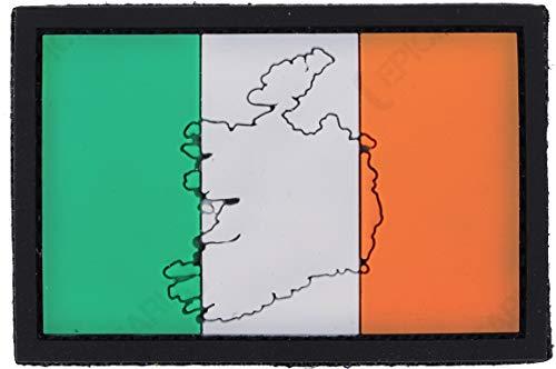 101 INC Parche De PVC Bandera del País Irlanda