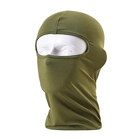 Unisex Balaclava - Sportausrüstung / Winddicht / Staubdicht Balaclava / Adjustable Riding Gesichtsmaske,Grün