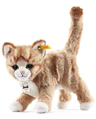 Steiff 099342 - Mizzy Katze gestromelt stehend, 25 cm, blond