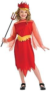 Disfraz de Reina Diablesa para niña, infantil 5-7 años (Rubie