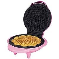 Mini Electric macchina per waffle 5A forma di cuore antiaderente facile da pulire