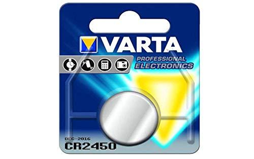 Pile Bouton Varta Cr2450 3v 560mh Référence : 6450101401 Pour Accessoires Divers Marques
