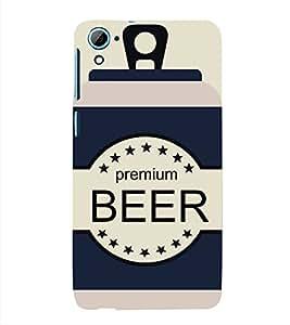FUSON Sketchy Beer Cans Drink 3D Hard Polycarbonate Designer Back Case Cover for HTC Desire 728 Dual Sim :: HTC Desire 728G Dual Sim