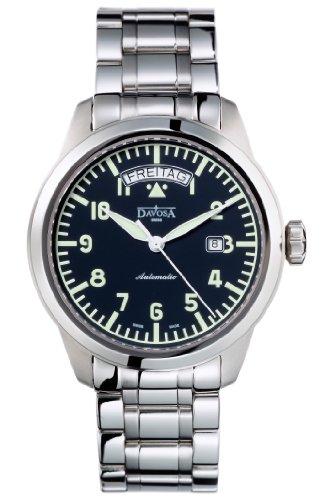 Davosa - 16143150 - Montre Homme - Automatique - Analogique - Bracelet Acier Inoxydable Argent