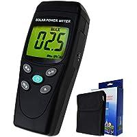 Digital Solar Power Meter Reader (Pyranometer) BTU / (ft2 * h) W / m2 Strahlung Energie Zelle Tester Auto Range