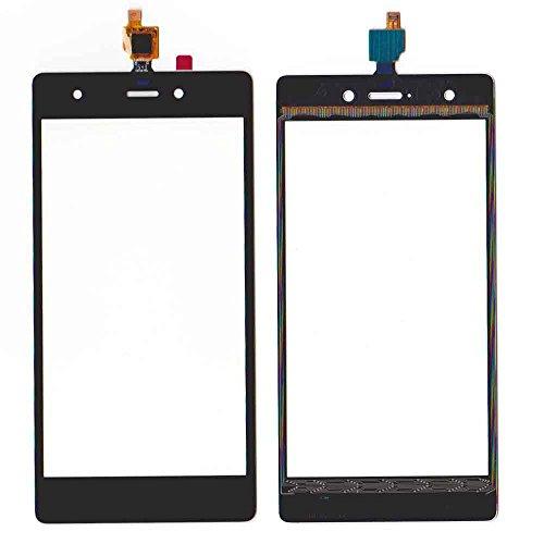 wedone per WIKO PULP 4G Touch Screen digitalizzatore vetro di ricambio con kit di attrezzi (Nero)