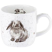 """Becher Tasse Hase im Kaffeebecher mit Zucker und Spruch /""""Ich war/'s nicht/"""" ts232"""