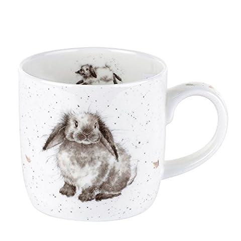 Par Royal Worcester Wrendale Rosie Lapin simple Mug