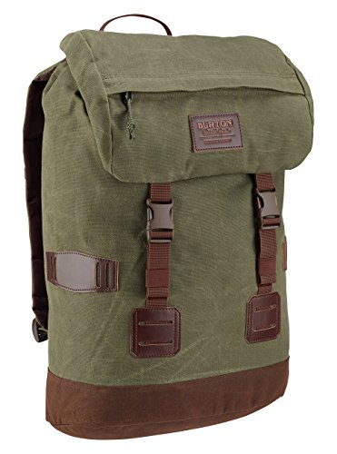 Burton Tinder Pack Daypack Forest Night Waxed Canvas