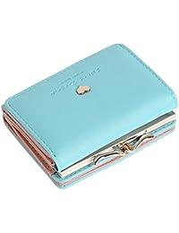 Lorna Women/Girl's Faux Leather Card Holder Mini Wallet Clutch