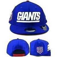 A NEW ERA Era York Giants NY 9Fifty Super Bowl XXV - Gorra, Color Azul y Rojo