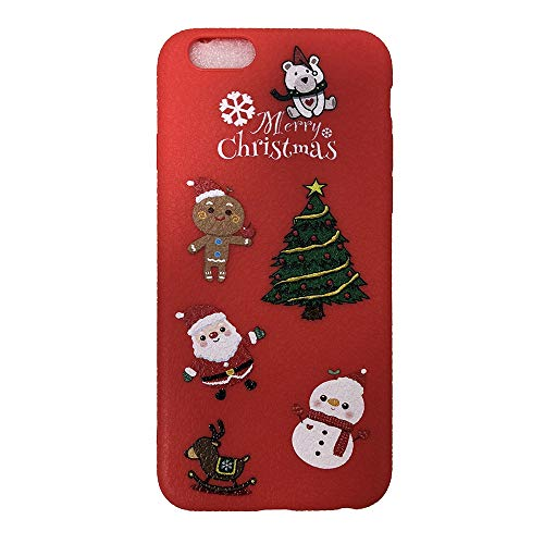 Momoxi Handyhülle, Phone Accessory Handy-Zubehör Frohe Weihnachten Handyhülle Xmas TPU Ultra Thin Hülle für iPhone 7/8 4.7 Zoll, begrenzte Anzahl
