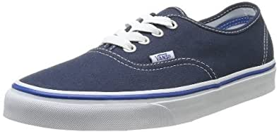 Vans Authentic, Unisex Adults' Low-Top Sneaker,Blue (Bls/N), 34.5 EU (2.5 UK)