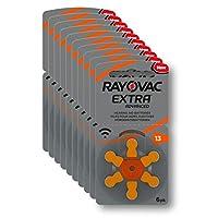 Rayovac Extra 13 No 6'lı Kulaklık Pili 10'lu Ekonomik Paket