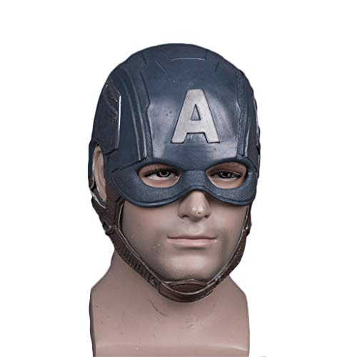 Henxizucun Kapitän Amerika Helm Halloween Helm Maske Film Show Maskerade Thema Party Cosplay
