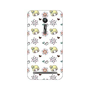 Garmor Designer Plastic Back Cover For Asus Zenfone 2 ZE551ML