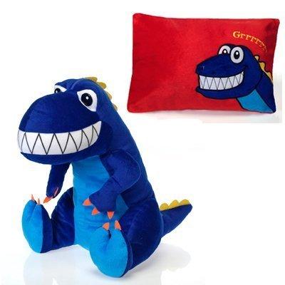 Fiesta Peek-A-Boo - Dinosaurio (45,7 cm) y almohada de peluche por Fiesta Toys