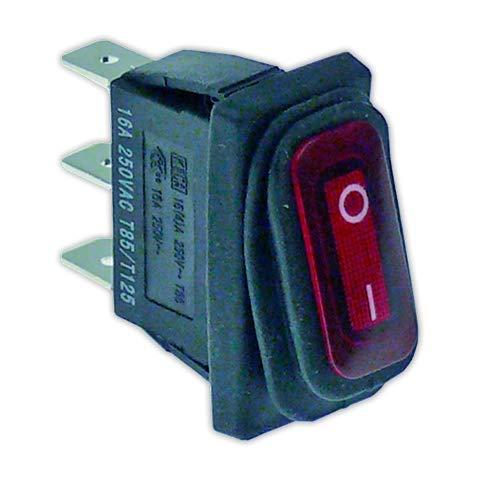 DOJA Industrial   Interruptor 11x30 mm I rojo con piloto   Interruptores...
