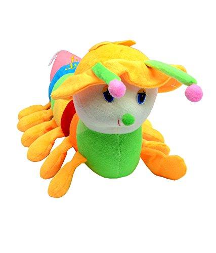 Tickles Stuffed Soft Plush Toy Kids Birthday Cap Caterpillar with multi color 54 cm
