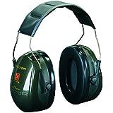 3M H520AC Peltor Kapselgehörschützer für Lärmpegel von 94 bis 105 dB, stufenlos verstellbare Kopfbügel, dunkelgrün