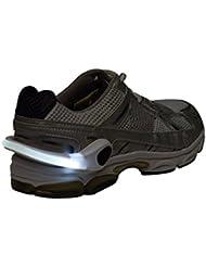 Lot de 2Lampe LED lumière clip blanc Réflecteur LED Chaussures lumineux LED