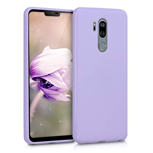 kwmobile LG G7 ThinQ/Fit/One Hülle - Handyhülle für LG G7 ThinQ/Fit/One - Handy Case in Lavendel