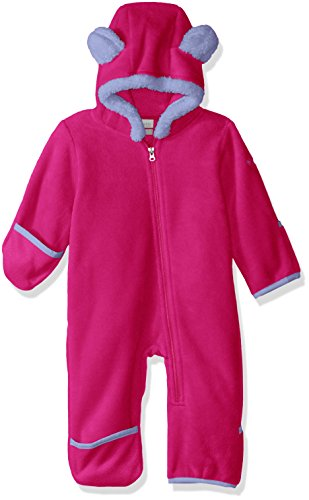 Columbia Fleece-Overall für Kleinkinder, Tiny Bear II Bunting, Polyester, Rosa (Cactus Pink), Gr. 6/12, 1523741 (Baby Bunting Mädchen)