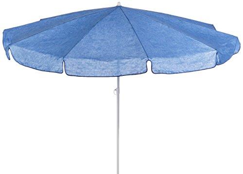 beo MM06 Sonnenschirm 200cm - Sombrilla para patio, color azul