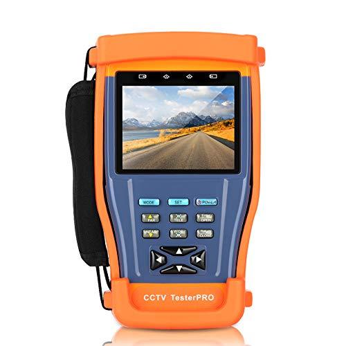 WXS CCTV Tester 3,5-Zoll-TFT-LCD-Monitor-Analog-Kamera Video-PTZ RS485 UTP Tester für Feld Installation und Wartung von Video-Überwachungssystem