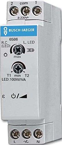 Busch-universal-licht (Busch-Jaeger Universal-Zentraldimmer 6586 REG konventionell Busch-Dimmer Dimmer 4011395208496)