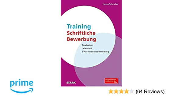 Hesseschrader Training Schriftliche Bewerbung Jürgen Hesse Hans