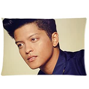 Custom bruno mars zipper cotton 20 30 inch pillowcase for Bruno fourniture de bureau