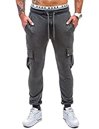 BOLF – Pantalons de sport – Jogging pantalons – ATHLETIC 0444 – Homme